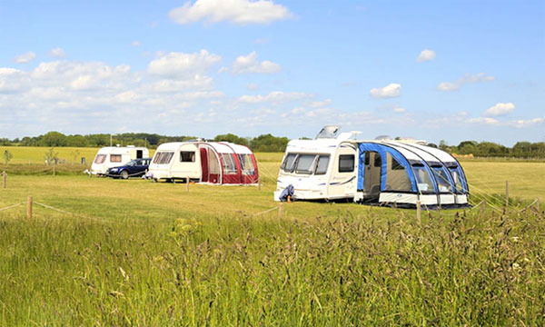 Burtree lakes caravan park touring pitch
