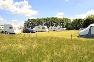 Burtree lakes caravan park touring pitch