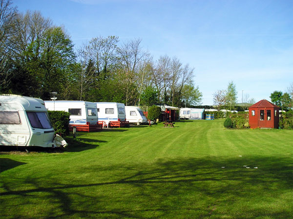 Pembroke caravan park touring pitch