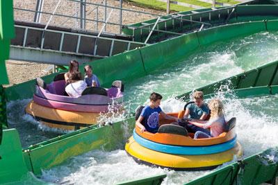 Wet n wild river rapids