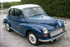 Morris Minor Tours and The Open Road Classic Car Hire, Bradford