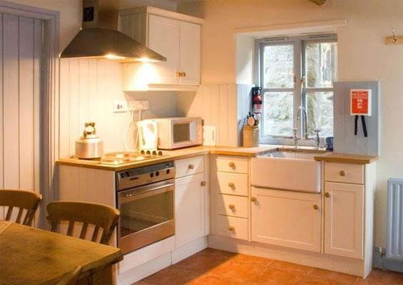 Old cobblers cottage kitchen