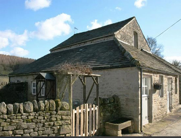 Shippon cottage barden exterior