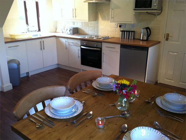 Lowdale farm cottage kitchen diner