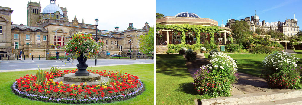 Harrogate Royal Baths and Valley Gardens