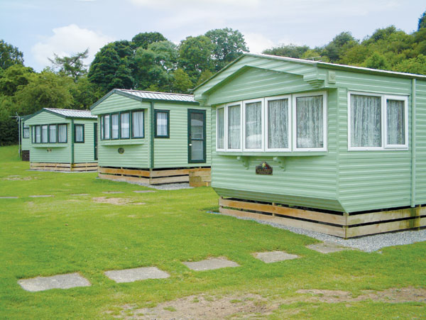 Static caravans at cote ghyll northallerton