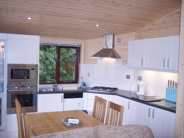 Lindale holiday park kitchen