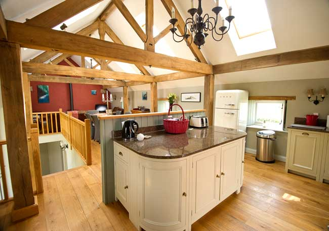 Hay barn kitchen sw