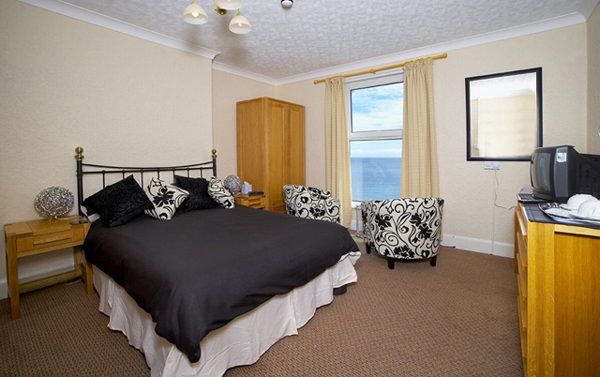 London hotel bridlington double bedroom