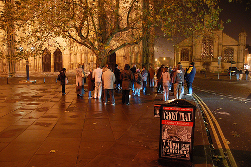 York ghost trail