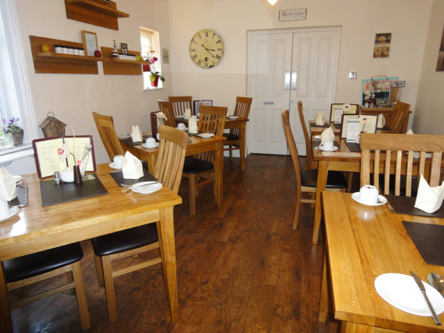 All seasons guest house filey dining room