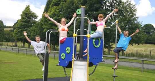 Rosedale caravan park play area