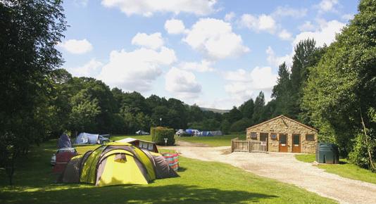 Rosedale caravan park tents