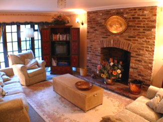 Living room croft cottage