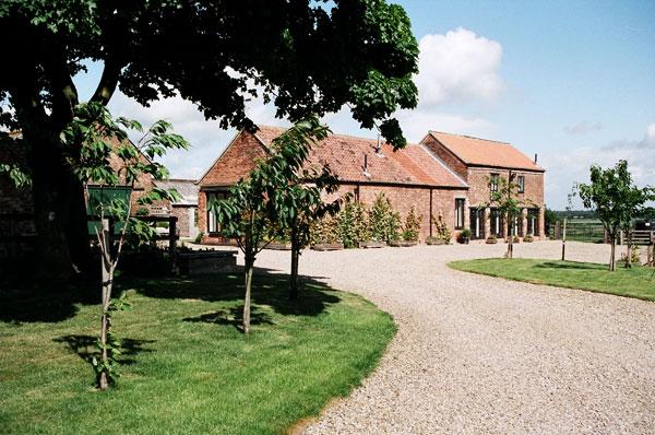 Hill house farm cottage entrance