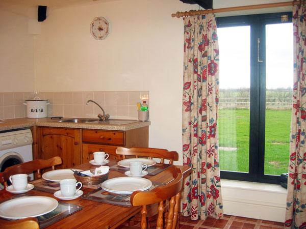 Horseshoe kitchen