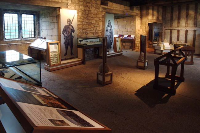 Helmsley castle exhibition