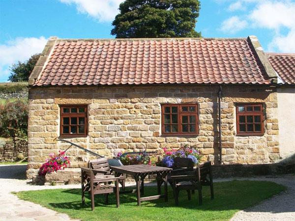 Cow byre cottage exterior
