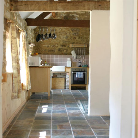 Cow byre cottage interior