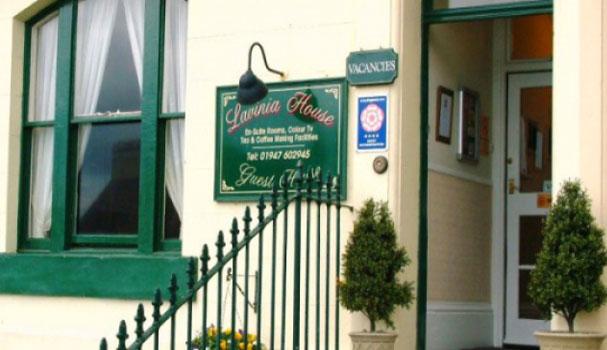 Lavinia house whitby exterior