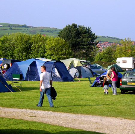 Middlewood farm camp site