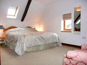 Mill cottage bedroom