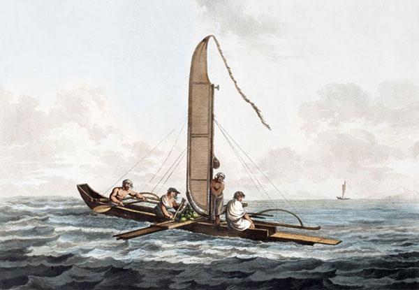 Webber tahiti canoe