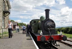 Wensleydale Railway, Leeming Bar