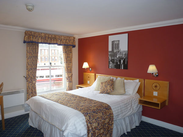 Queens hotel double room