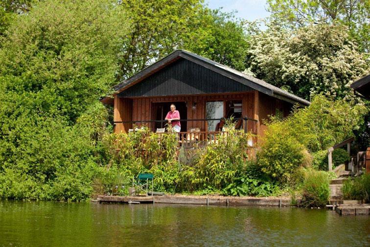 York Lakeside Lodges Log Cabin York Hello Yorkshire