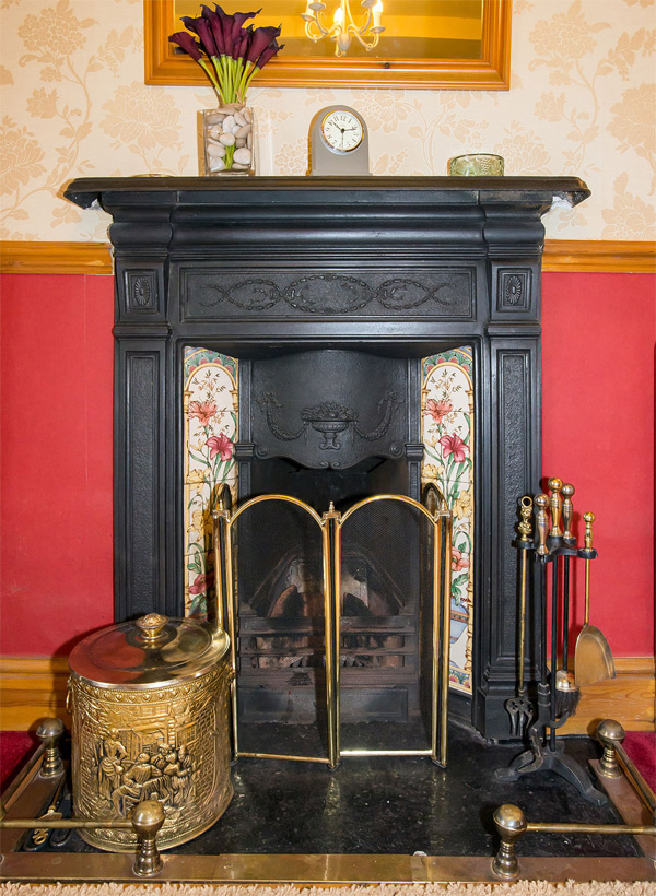 Bellegreen fireplace